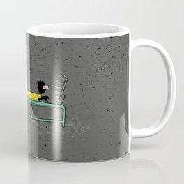 Pure Laziness by Thao Vu Coffee Mug