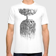 One Tree Planet MEDIUM Mens Fitted Tee White