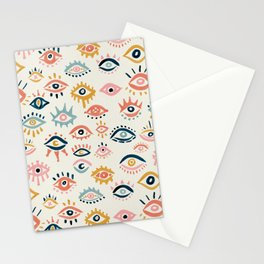 Mystic Eyes – Primary Palette Stationery Cards