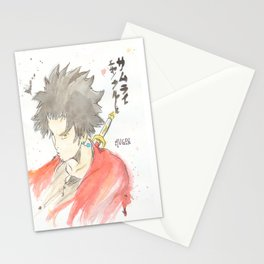Samurai Champloo - Mugen Watercolour Stationery Cards