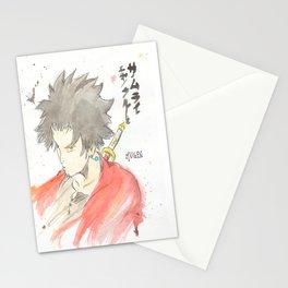 Samurai Champloo - Mugen Watercolour Stationery Cards