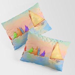 Rainbow Fleet Pillow Sham