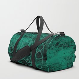 Grunge in Teal II Duffle Bag