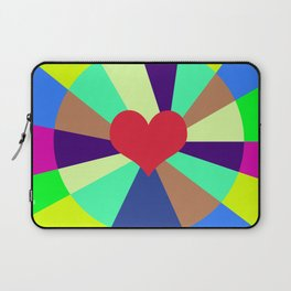Listen To Your Heart Laptop Sleeve