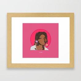 St. Aiyana Framed Art Print
