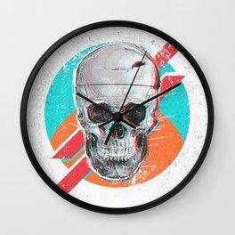 3D Skull Death Pop Wall Clock