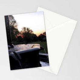 Fountain at Mellon Park in Pittsburgh (Instagram) Stationery Cards