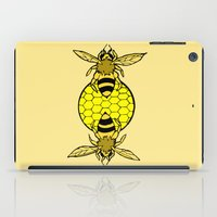 bees iPad Cases featuring Bees by Chelsey Hamilton