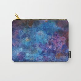 Blue Grotto Abstract Painting  Carry-All Pouch