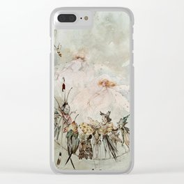 """Exotics at Play"" by Duncan Carse Clear iPhone Case"