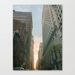 Philly Street View Canvas Print