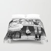 cheese Duvet Covers featuring Cheese. by Samuel Guerrero
