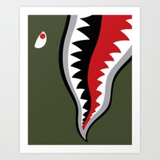 Land Shark Art Print