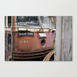 Short Turn Canvas Print
