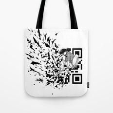 Break a (QR) Code Tote Bag