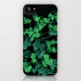 Shades of Green surreal garden landscape iPhone Case