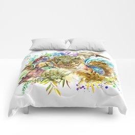 Dinosaur Collage Comforters