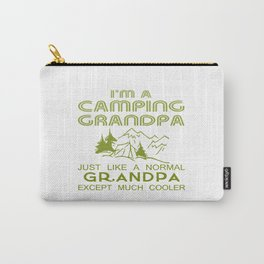 Camping Grandpa Carry-All Pouch