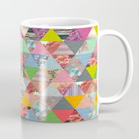 lost Mugs featuring Lost in ▲ by Bianca Green