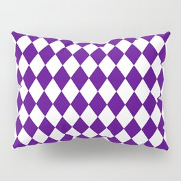 Rhombus (Indigo/White) Pillow Sham