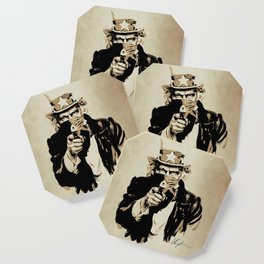 Wanted Poster Coaster