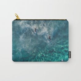 Surfing in the Ocean 2 Carry-All Pouch