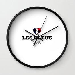 EM 2016 Les bleus France Wall Clock