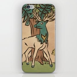 The Guardian Stag iPhone Skin