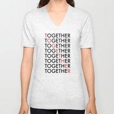 Together Unisex V-Neck