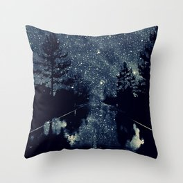 The Road Known  Throw Pillow