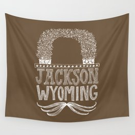 Jackson Wyoming Antler Arches Wall Tapestry