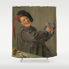"Judith Leyster ""The Jolly Drinker"" Shower Curtain"