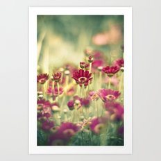 We Grew for You Art Print