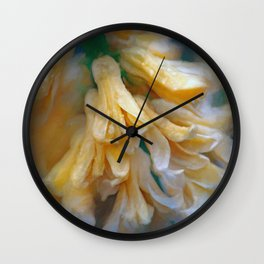 Early morning shower Wall Clock