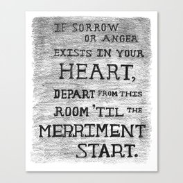 The Room of Merriment - Ingrid Canvas Print