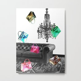 Handbag Party Metal Print