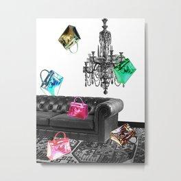 Handbag Party Metal Print