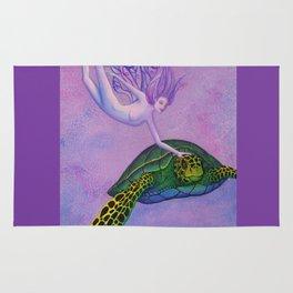Turtle Fairie Rug