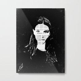 Nika Metal Print