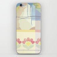 wallpaper iPhone & iPod Skins featuring Wallpaper by John Murphy