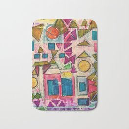 Spring shapes Bath Mat