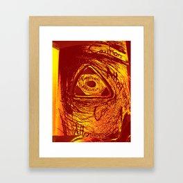 Caution/ Attention Framed Art Print