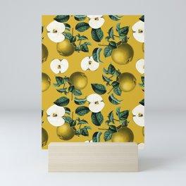 Vintage Fruit Pattern III Mini Art Print