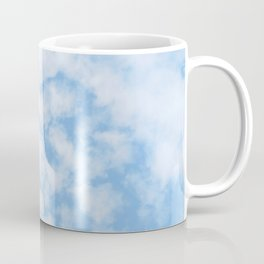 Summer Sky with fluffy clouds Coffee Mug