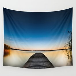 Skinny dipping Wall Tapestry