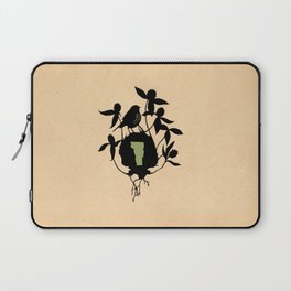 Vermont - State Papercut Print Laptop Sleeve