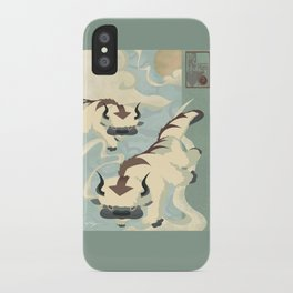 Original Bending Masters Series: Sky Bison iPhone Case