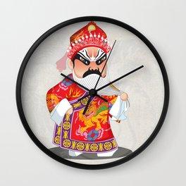 Beijing Opera Character LianPo Wall Clock