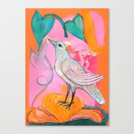 Song of the Dove Canvas Print