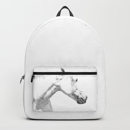White Horse Profile Backpack